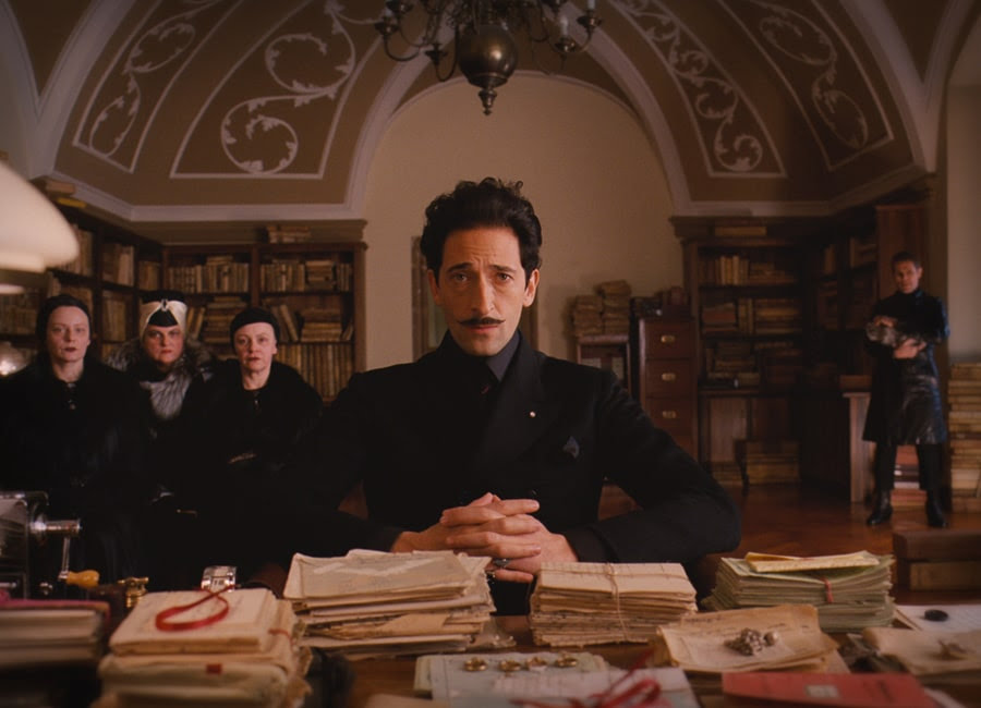 Adrian Brody dans The Grand Budapest Hotel