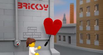 The Brick Fantastic : les œuvres de Banksy réinventées en Lego